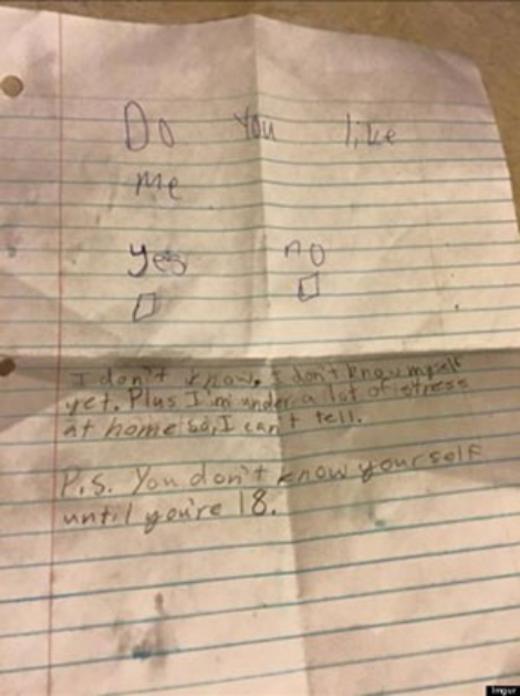 Lời từ chối tình cảm dễ thương của cậu bé 11 tuổi gây sốt