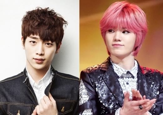 Bước sang tuổi 22 nhưng mỹ namSungjong (Infinite)vẫn trông như một cậu nhóc khi đứng bên cạnhSeo Kang Jun.