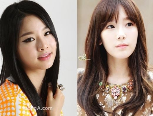 Vẻ ngoài củaTaeyeon (SNSD)vàSoljin (EXID)cho thấy sự khác biệt giữa 2 thần tượng theo đuổi hai phong cách âm nhạc khác nhau.Taeyeontrưởng thành nhưng vẻ ngoài trẻ trung, cònSoljinlại quyến rũ và thu hút.