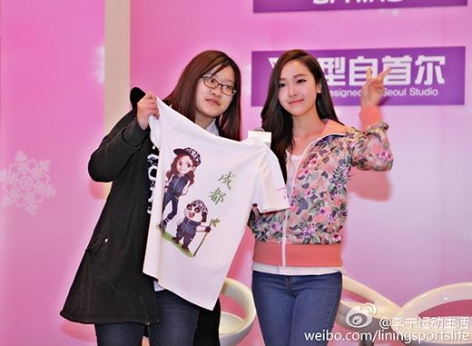 Jessica đốn tim fan bằng hình ảnh vô cùng giản dị