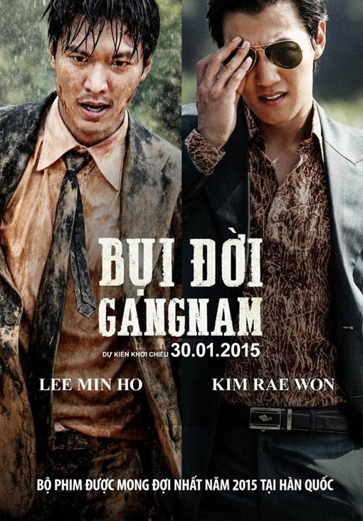 Gangnam 1970 (tựa Việt: Bụi đời Gangnam) thu hút vì có sự góp mặt của hai mỹ nam Lee Min Ho và Kim Rae Won