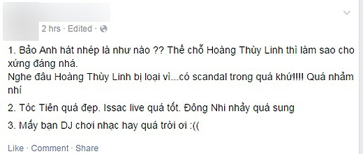 Cư dân mạng phẫn nộ vì nghi Bảo Anh - Sơn Tùng hát nhép