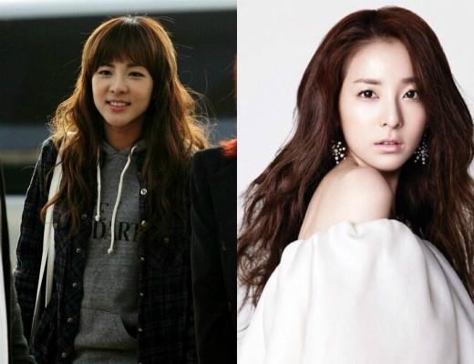 Dara (2NE1) hoàn toàn phù hợp với danh hiệu thần tượng không tuổi mà các fan ưu ái dành tặng cho cô nàng. Với kiểu tóc mái ngang, ít ai có thể nghĩ năm nay nữ thần tượng này đã bước sang tuổi 31.