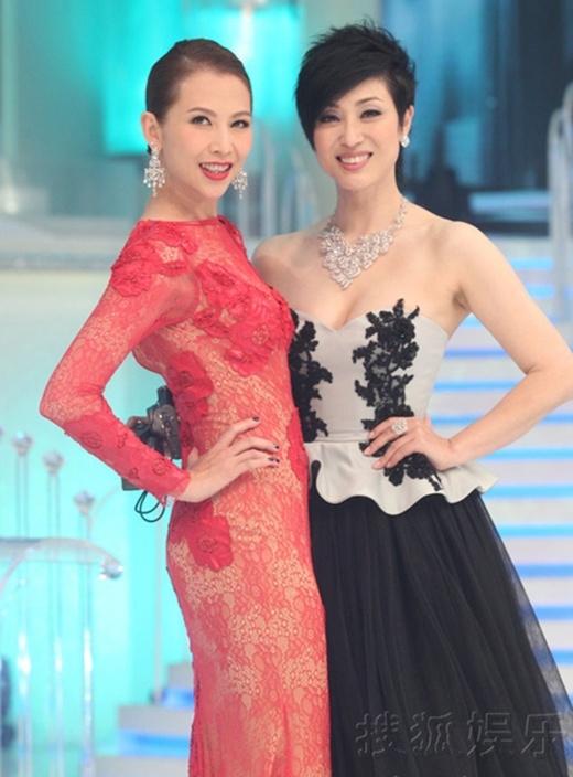 Hai giám khảo cuộc thi - Á hậu Thái Thiếu Phân và Hoa hậu một thời Trần Pháp Dung