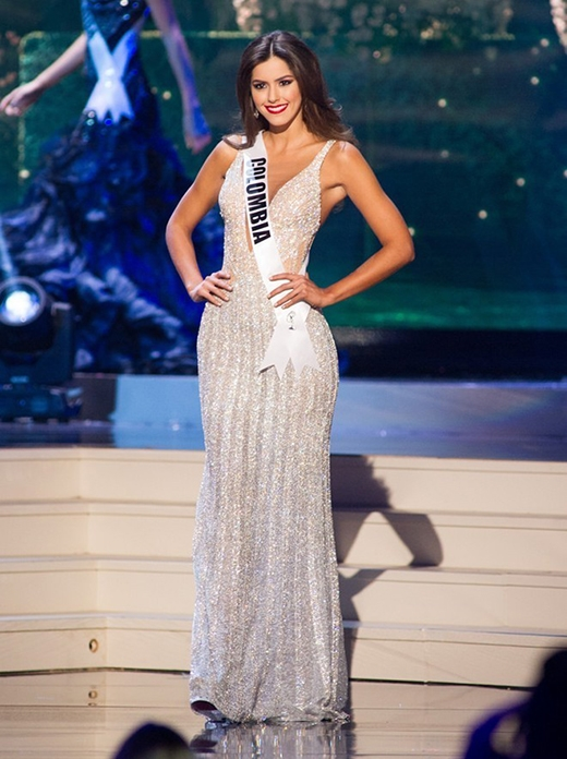 Đại diện của Colombia là một trong những thí sinh có biểu hiện xuất sắc trong xuyên suốt cuộc thi