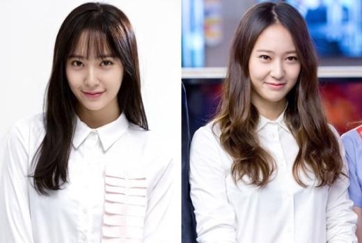 """Chắc hẳn các fan còn nhớ cô nàng Yoon Se Na đáng yêu, tốt bụng, do Krystal thủ vai trong phim My Lovely Girl. Kiểu tóc này giúp Krystal trông có vẻ """"hiền"""" và dịu dàng hơn các vai diễn trước đây của cô."""