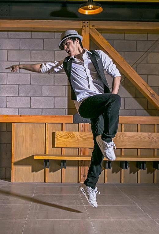 Lâm Vinh Hải khoe vũ đạo điêu luyện trong bộ ảnh mới