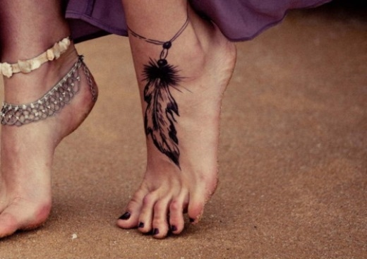 Xăm Mu bàn chân
