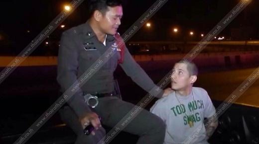 Marco bỏ chạy trên phố toán loạn khi bị cảnh sát bắt