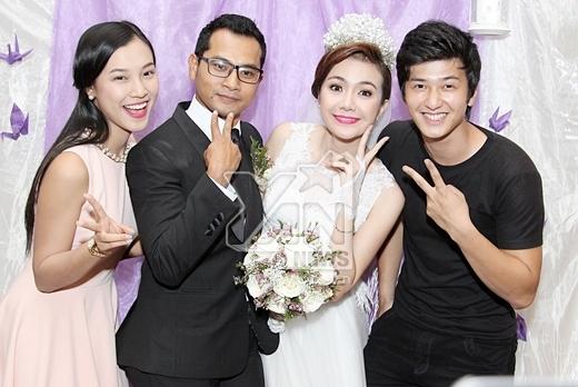Cặp đôi Huỳnh Anh và bạn gái Hoàng Oanh - Tin sao Viet - Tin tuc sao Viet - Scandal sao Viet - Tin tuc cua Sao - Tin cua Sao