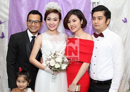 Lê Phương xuất hiện rạng rỡ trong đám cưới Huỳnh Đông - Tin sao Viet - Tin tuc sao Viet - Scandal sao Viet - Tin tuc cua Sao - Tin cua Sao