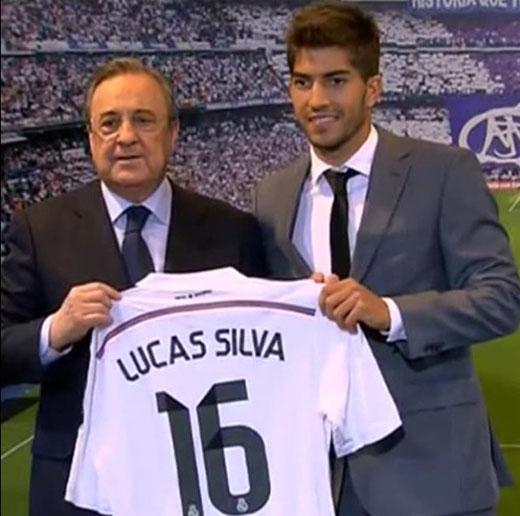 Silva sẽ mang áo số 16 tại Real Madrid