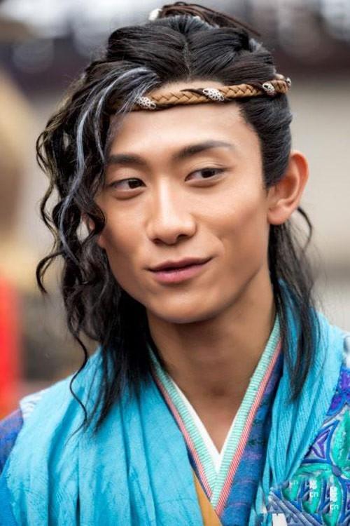 Trương Nhất Sơn trong bộ phim điện ảnh 3D Đoạt lộ nhi đào.