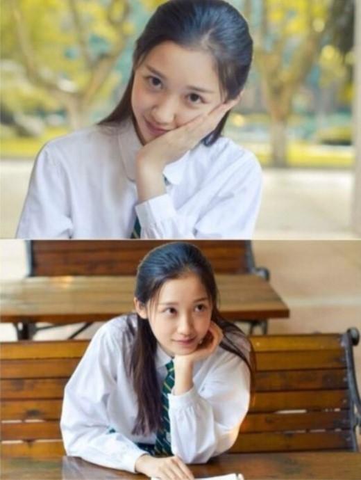 Zhang Xue Qi đến từ đại học Nam Kinh được dân mạng thích thú, hâm mộ nhờ có gương mặt thánh thiện, hiền dịu nằm trong danh sách những hoa khôi xinh đẹp nhất Trung Quốc.