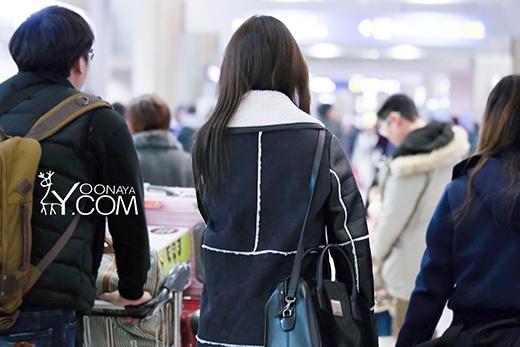 Một số hình ảnh Yoona tại sân bay Incheon khi trở về Hàn Quốc