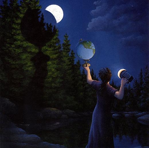 Sự thật đằng sau ánh trăng khuyết