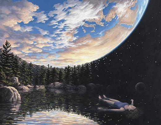 Bạn đang lững lờ thả hồn mình trên dòng sông, phóng tầm mắt lên bầu trời hay đang lơ lửng trong không gian rộng lớn?