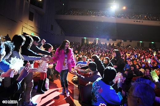 Ha Ji Won thân thiện trong buổi họp mặt tại Nhật