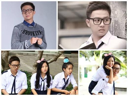 Những hình ảnh rất dễ thương của Duy Khánh ZhouZhou trong vai mọt sách