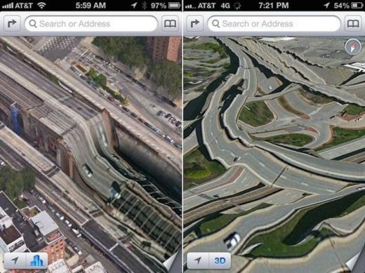 Ứng dụng bản đồ của Apple không tốt như Google Map. iPhone không cho dùng Google Map như ứng dụng mặc định.