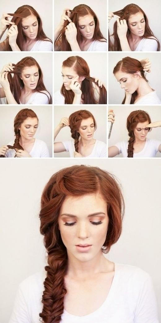Không quá phức tạp nhưng đủ tạo cho bạn một kiểu tóc quyến rũ