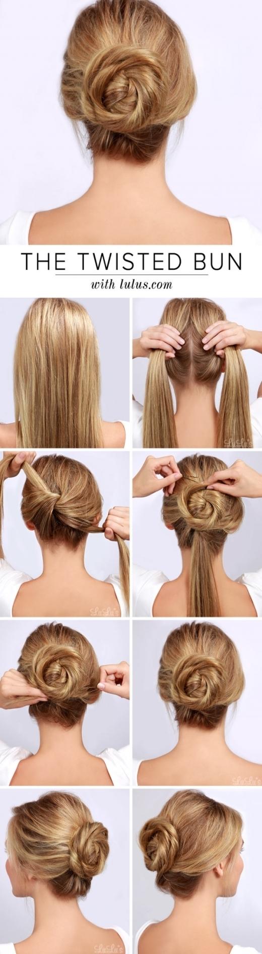 Kiểu tóc dành cho những nàng thanh lịch