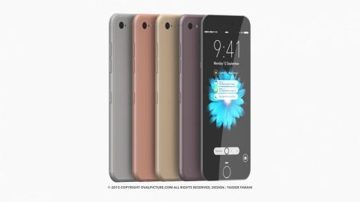 Thú vị ý tưởng thiết kế iPhone 7 tưởng tượng