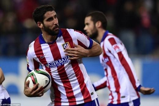 Raul Garcia không thực sự vui bởi anh biết đội bóng muốn đi tiếp thì cần phải ghi thêm bàn vào lưới Barca.