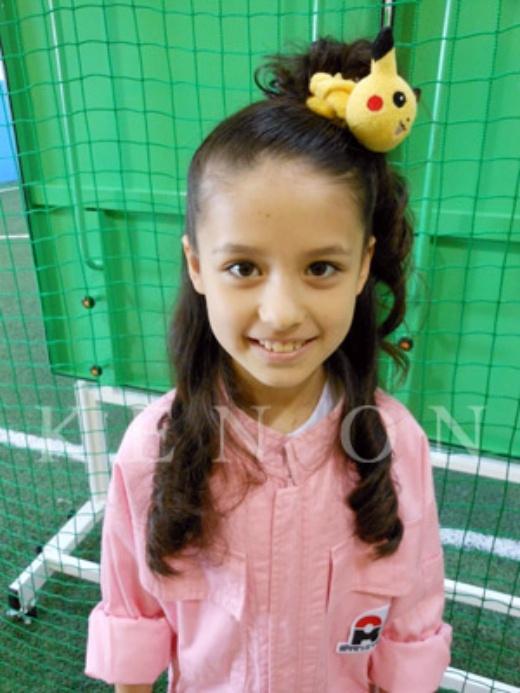 Khi 10 tuổi, Maru có gương mặt với làn da đen hơn rất nhiều.