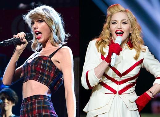 """Taylor Swift """"chết ngất"""" vì được Madonna khen"""