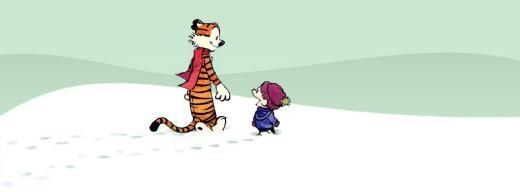 Đôi bạn Calvin và Hobbes  Hãy nghỉ việc và làm điều khiến bạn hạnh phúc.