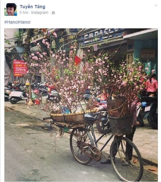 VJ Tuyền Tăng đón những ngày cuối tháng 1 ở Hà Nội. Theo những gì cô nàng chia sẻ trên trang cá nhân của mình, Tuyền Tăng đang có những giờ phút cực kì vui vẻ và thú vị bên bạn bè trong chuyến công tác ra Hà Nội này.