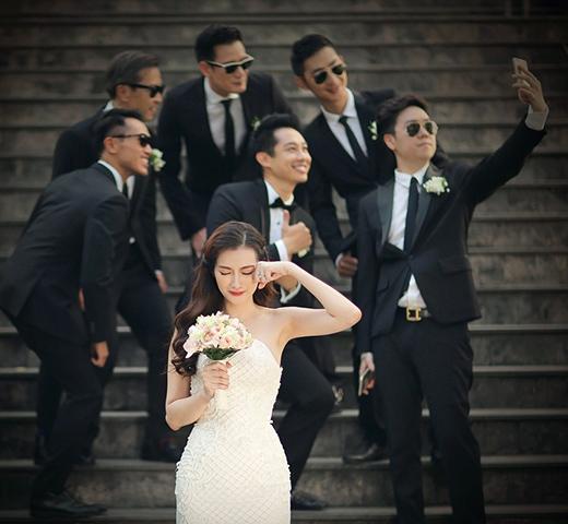 Trúc Diễm khoe váy cưới đính pha lê quý - Tin sao Viet - Tin tuc sao Viet - Scandal sao Viet - Tin tuc cua Sao - Tin cua Sao