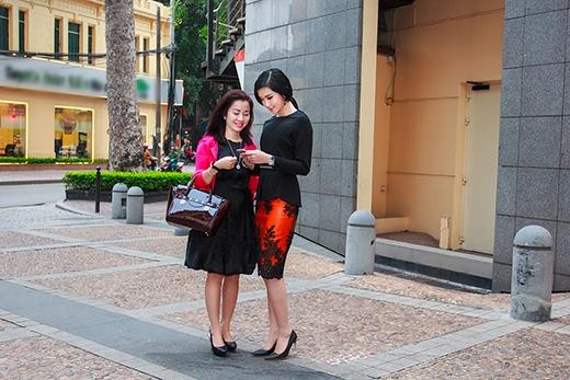 Mẹ Á hậu Huyền My sành điệu bên con gái - Tin sao Viet - Tin tuc sao Viet - Scandal sao Viet - Tin tuc cua Sao - Tin cua Sao
