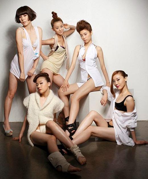 Hình ảnh đầu tiên của Girl's Day vào năm 2010