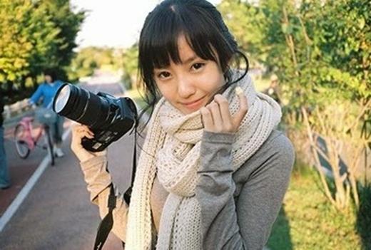 Hyomin là một người mẫu vào năm 2007