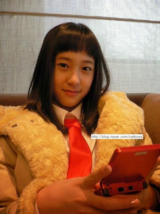 Krystal khi còn là một học sinh năm 2005