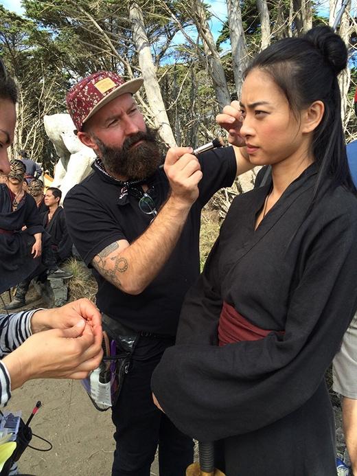 Ngô Thanh Vân bất ngờ khoe ảnh hậu trường đóng phim bom tấn cùng sao Hollywood - Tin sao Viet - Tin tuc sao Viet - Scandal sao Viet - Tin tuc cua Sao - Tin cua Sao