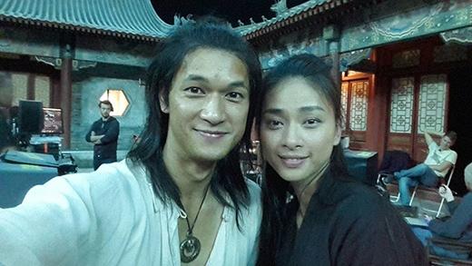 Nữ diễn viên khá thân thiết bên Harry Shum Jr. - Tin sao Viet - Tin tuc sao Viet - Scandal sao Viet - Tin tuc cua Sao - Tin cua Sao
