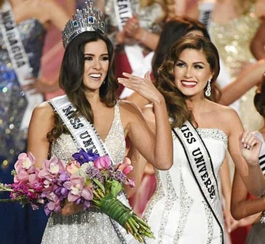 Hoa hậu Colombia,Paulina Vegađăng quangHoa hậu Hoàn vũ