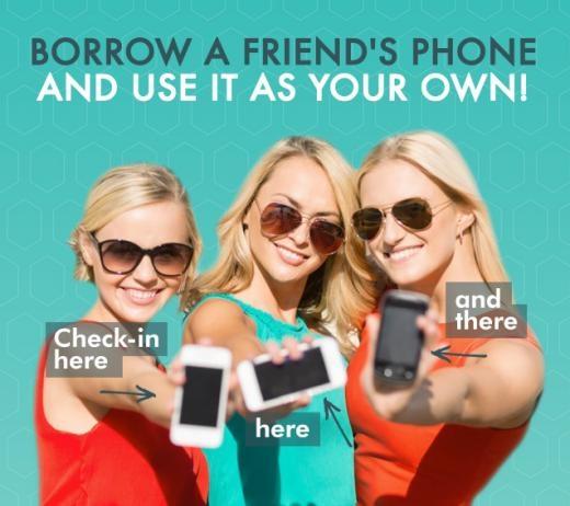 Một ứng dụng mới ra mắt sẽ cứu nguy tình huống này. Hotel My Phone cho phép bạn dùng lượng pin ít ỏi còn lại để gọi điện hoặc nhắn tin vào thiết bị của bạn bè.