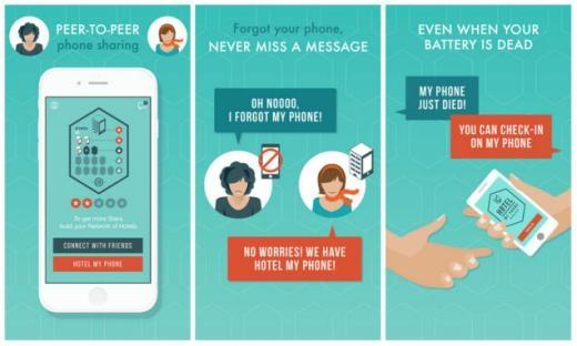 Ngoài tính năng cho phép dùng ké điện thoại, Hotel My App cũng cho phép người dùng lựa chọn dịch vụ nhắn tin miễn phí với những người cùng cài đặt ứng dụng.