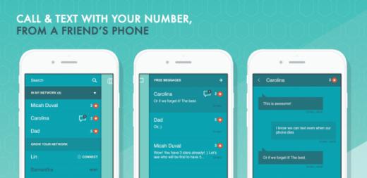 Khi mượn điện thoại của người bạn này, bạn sẽ được truy cập vào toàn bộ thông tin danh sách liên lạc của mình.