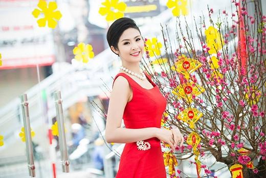 Nụ cười rạng rỡ của Hoa hậu Ngọc Hân. - Tin sao Viet - Tin tuc sao Viet - Scandal sao Viet - Tin tuc cua Sao - Tin cua Sao