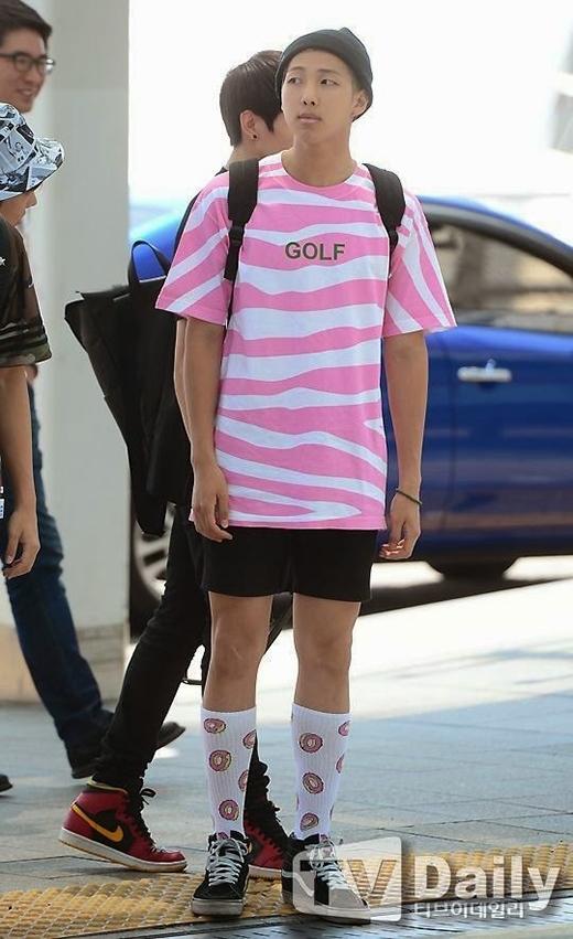Phong cách thời trang của trưởng nhóm BTS (2013)
