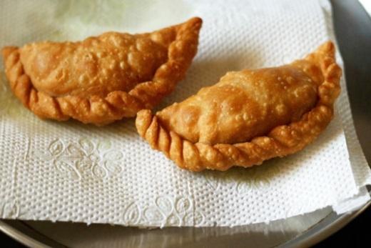 Công thức làm bánh xếp nhân trái cây giòn tan