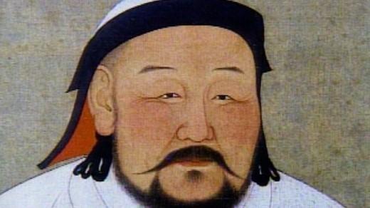 Một bức họa chân dung Thành Cát Tư Hãn, một trong những người đàn ông có hàng triệu hậu duệ. Ảnh: biography.com