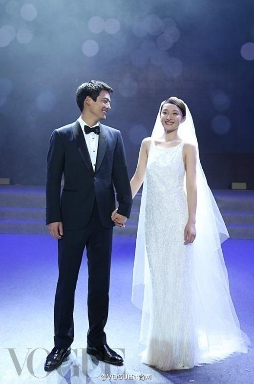 Cô dâu giản dị Châu Tấn