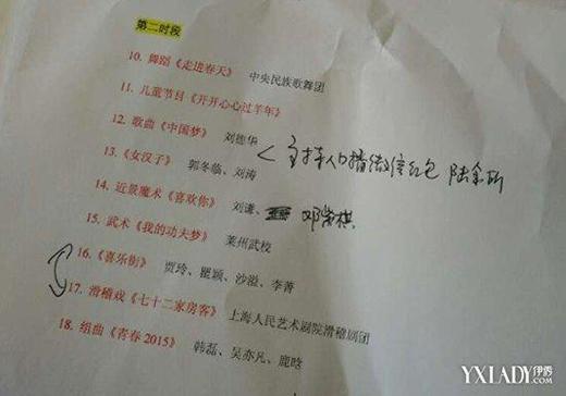 Danh sách nghệ sĩ tham gia chương trình Gala năm mới của đài CCTV được tiết lộ