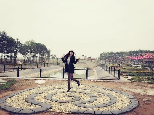 Hồ Ngọc Hà tự thưởng cho mình một ngày bình yên để thư giãn và xả stress.
